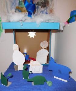 Weihnachtskrippe 2015 (C) Pflegefamilienblog.de